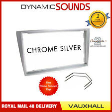 CT24VX19 Chrome Silver Fascia Facia Trim Free Keys For VAUXHALL OPEL ZAFIRA 2005