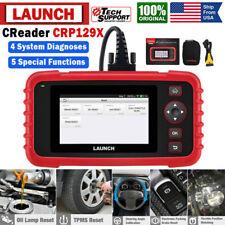 2020 LAUNCH CRP129 X PRO Car OBD2 Diagnostic Scanner Tool ABS SRS TPMS Oil Reset
