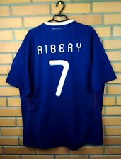 Ribery France soccer jersey 2XL 2009 2010 home shirt P41040 football Adidas