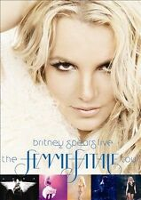 BRITNEY SPEARS Live The Femme Fatale Tour DVD BRAND NEW