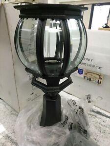 Trans Globe Lighting  4070  BK Lighting Outdoor Post POLE  ONE LIGHT(#41E