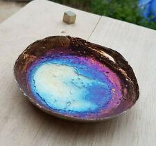 Bismuth Rainbow Handmade Jewellery Dish 🎁 Gorgeous Gift 🎁 Free UK Postage 🎁