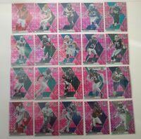 2020 Mosaic Football Pink Camo Lot (20 Cards) No Dupes