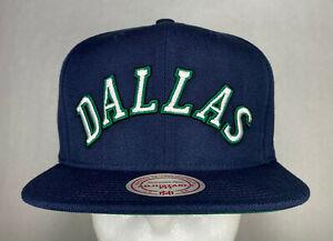 Mitchell and Ness NBA Dallas Mavericks Jordan 10 HWC Snapback Hat, New