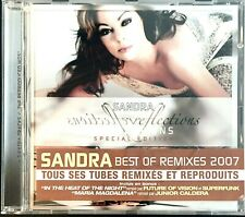 CD ALBUM EDITION SPECIALE SANDRA REFLECTIONS (THE REPRODUCED HITS) COMME NEUF