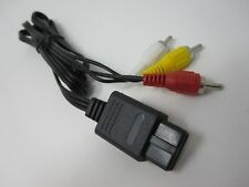 Nintendo SNES N64 GameCube TV Composite AV Cable Lead (Red White Yellow)