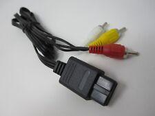 Nintendo SNES N64 Gamecube TV AV composite câble plomb (Rouge Blanc Jaune)