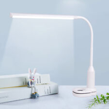 24 LED Flexible USB Touch Dimmable Clip On Desk Lamp Study Reading Night Light