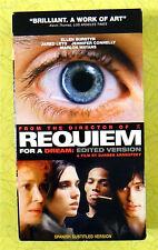 Requiem for a Dream ~ Vhs Movie ~ Rare Spanish Subtitled Version Video