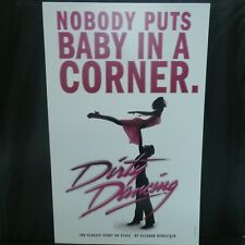 """Dirty Dancing Theater Broadway Window Card Poster 14"""" x 22"""""""