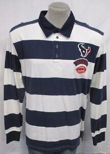 Houston Texans NFL Men's Long Sleeve Polo Shirt