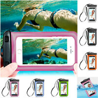 Waterproof Pouch Phone Dry Bag Sports Armband Case For Phone/iPhone XS Max 8 7