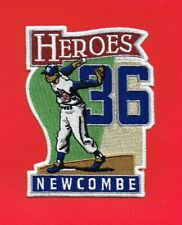 DON NEWCOMBE HEROES LA DODGERS AUTHENTIC MLB PATCH
