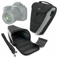 SLR Camera w/ Lens Sling Shoulder Case For Canon EOS 5D Mark I II III IV