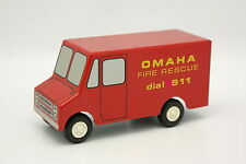 SNAP ON Ralstoy 22 1/43 - US Truck Fire Rescue Omaha Pompiers