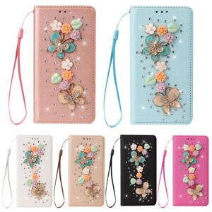 Folio Leder Etui Wallet Handy Schutzhüllen Für Samsung A02S A32 A42 A52 A72 A21S