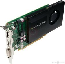 2 x HP NVIDIA Quadro K2000 (2048 MB) DDR 5 Graphics Cards