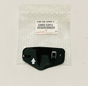 NEW  GENUINE FOR LEXUS 2001-2005 IS300 HOOD SUPPORT ROD CLAMP 53455-53010