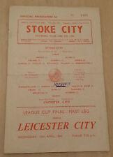 1964 League Cup Final (1st Leg) - STOKE CITY v. LEICESTER CITY