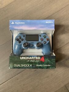 Sony - DUALSHOCK 4 Limited Edition Uncharted 4 PS4 Controller NEW