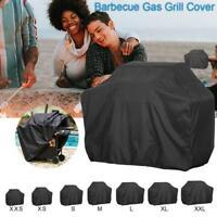 S/M/L BBQ Cover Heavy Duty Waterproof Rain Gas Barbeque Prote Garden F0B7 Y1S2