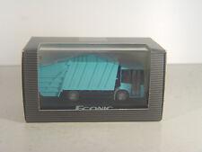 Econic Preßmüllwagen - Wiking Mercedes Benz Sondermodell blau  - HO 1:87 - gebr