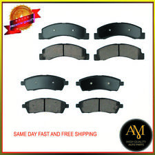Full Set Brake Pads 8PCS Front & Rear Fits Ford Excursion F-250 F-350