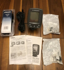Lowrance X50 DS Fishfinder Sonar Depth Finder Transducer 106-48 W/20' Extension