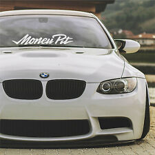 Money Pit car windshield banner sticker decal BMW JDM stance tuning racing