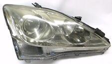 2006-2010 Lexus is250 Passenger Side Headlamp Halogen Fit Cleaned, Polished OEM