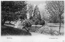 WORTHING - In Homefield Park - Sussex - Unused Original Postcard (SUS96)