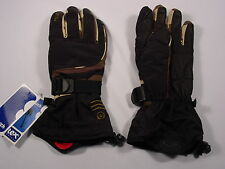 New Reusch Ski Snow Board Gloves LEATHER PALMS Medium 8.5 Invisible  #2790219