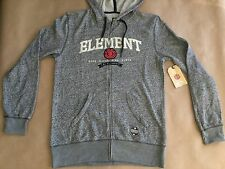 $64 Element Men's Zip Up Hoodie Grey Heater Size M