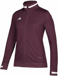 Women's Adidas Maroon/White Team 19 Track Jacket (WS)