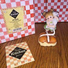 "My Little Kitchen Fairies ""HOT CROSS BUNS"" 2008  NIB"