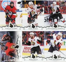 18/19 UPPER DECK SERIES 1 TEAM SET - OTTAWA SENATORS