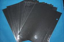 Trophy TR9412 Clear Windows for TR9400 Flip Folders, 100 Packs of 12