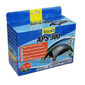 New Genuine Tetra APS 300 Aquarium Fish Tank Silent Twin Outlet Air Pump 300L/H