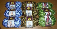 Lot of 3 Skeins Lion Brand Hometown USA Yarn, 4 oz/ 64yds, You Choose Color
