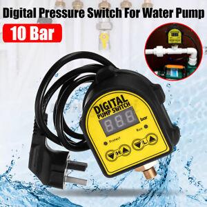 Elektronischer Pumpensteuerung Pumpenschalter Druckschalter Ein/Aus  220V AC 10A