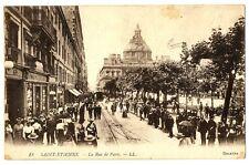 CPA 42 loire St-Etienne La Rue de Paris animé
