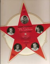 ANIMAL NIGHTLIFE mr. solitaire U.K. ISLAND star shaped picture disc_MINT 1984