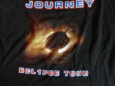 "Journey ""ECL1PSE TOUR"" 2011 Black Graphic T Shirt Adult XL Free Shipping US"