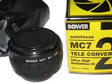 2X Tele-Converter lens AF MC7 for Sony A77 A55 A33 A65 A300 A200 A500 A550 A380