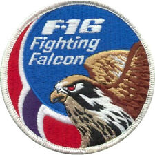 GENERAL DYNAMICS F-16 FIGHTING FALCON SWIRL: F-16 Norwegian National Flag patch