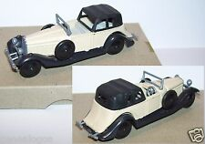 Injectaplastic huilor hispano suiza j12 1934 coupe de ville black gray ref 652b