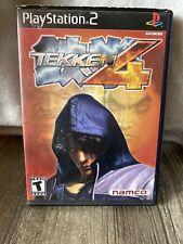 Tekken 4 (Sony PlayStation 2, 2002) PS2 Black Label Complete
