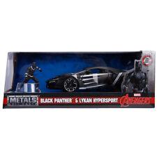 Jada Toys Marvel Avengers Black Panther & Lykan Hypersport Die-Cast Car & Figure