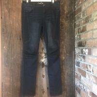 Women's Size 8 jeans INC Denim Blue Skinny Leg Regular International Concepts
