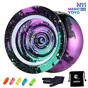 MAGICYOYO Yoyo Professional N11 Unresponsive Pro Yoyos Metal Yoyo 4 Colors Yoyo